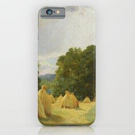 "Ivan Shishkin ""Haystacks"" iPhone Case"