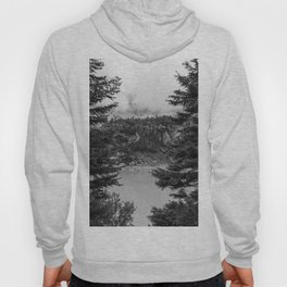 Between Pine (Black and White) Hoody