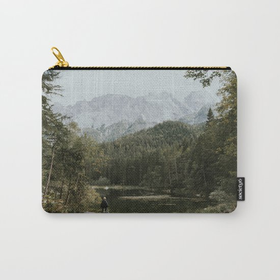 Mountain lake vibes II - Landscape Photography Carry-All Pouch
