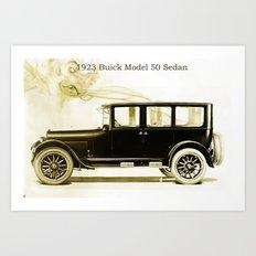 1923 Buick Sedan Art Print