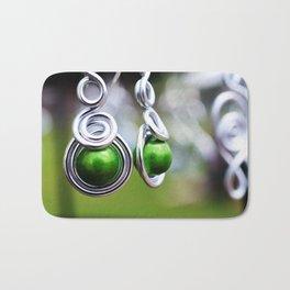 dangles earrings Bath Mat