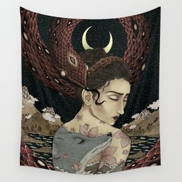 Serenity of chaos Wall Tapestry