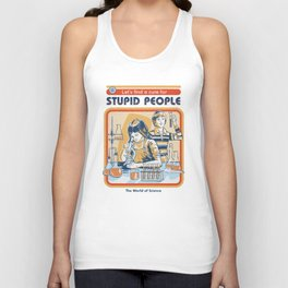 A Cure for Stupid People Unisex Tank Top