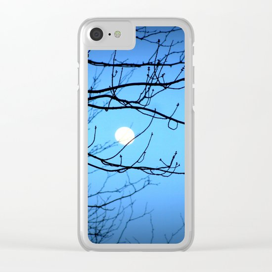 Moonlight at Dusk Clear iPhone Case