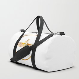 Prophet Zarathustra, Zarathushtra Spitama, or Ashu Zarathushtra- symbols of Zoroastrianism Farvahar Duffle Bag