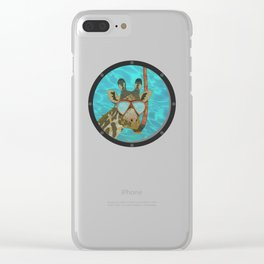 I think I'm lost Clear iPhone Case