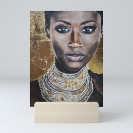 Graceful Ebony Mini Art Print