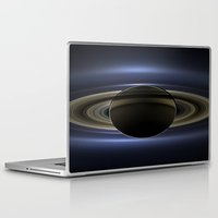 saturn Laptop & iPad Skins featuring Saturn by 2sweet4words Designs