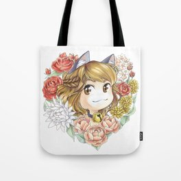 Hearty kitty Tote Bag