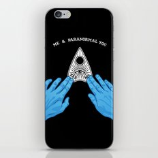 Me & Paranormal You - James Roper Design - Ouija (white lettering) iPhone & iPod Skin