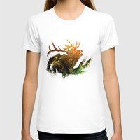 elk T-shirts featuring Elk by Justin Kedl