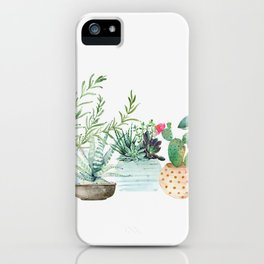 Plants iPhone Case