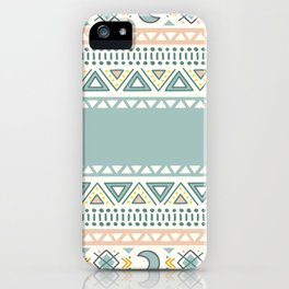 Colorful Geometric Boho Style 1 iPhone Case