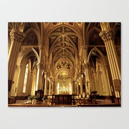 Basilica of the Sacred Heart Canvas Print