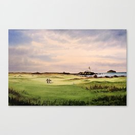 Turnberry Golf Course 12th Hole Canvas Print