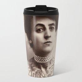 First Woman Tattoo Artist in the US Travel Mug