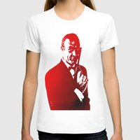 james bond T-shirts featuring James Bond - Red or Dead by D77 The DigArtisT