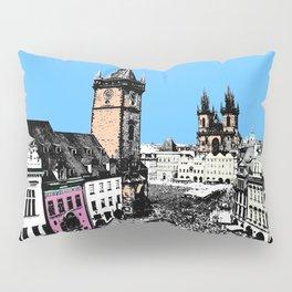 Prague old city Pillow Sham