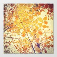 be happy Canvas Prints featuring Happy by Olivia Joy StClaire
