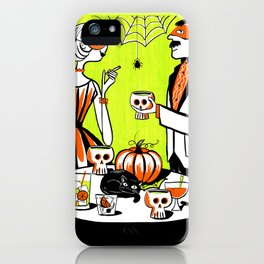 The Swankiest Halloween Party iPhone Case