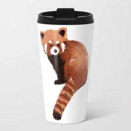 red panda with love Travel Mug