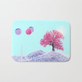paper tree Bath Mat