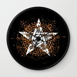 Frantic Star Wall Clock