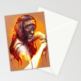 Michonne Stationery Cards