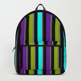 VERTICAL Retro Candy Stripe Backpack