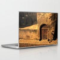 door Laptop & iPad Skins featuring door by Crazy Thoom