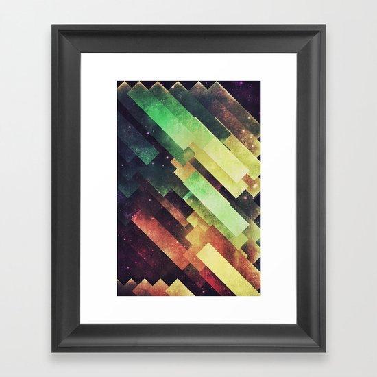xyy byy Framed Art Print