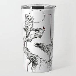 Three Birds Travel Mug