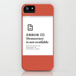UN headquarters in New York City protest iPhone Case