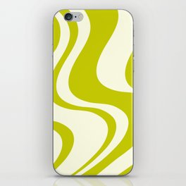 Dazed and Confused - Chartreuse iPhone Skin