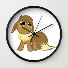 My Little Eevee Wall Clock
