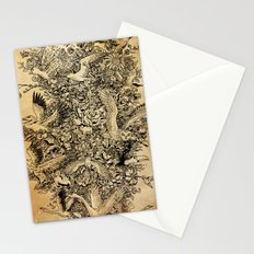 Blooming Flight Stationery Cards