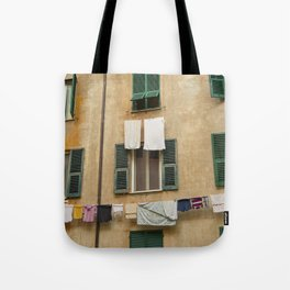Hanging laundry Tote Bag