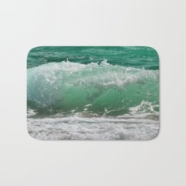 Sea Water Waves Bath Mat