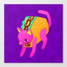 Taco Cat Canvas Print