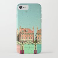 cassia beck iPhone & iPod Cases featuring Promenade by Cassia Beck