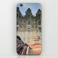 amsterdam iPhone & iPod Skins featuring Amsterdam by John Turck