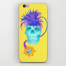 Rad cool skull iPhone & iPod Skin