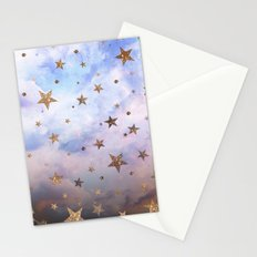 Cloudy Stars Stationery Cards