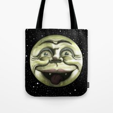 Rad Moon Rising Tote Bag