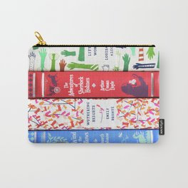 Pretty Book Stack Part 2 Carry-All Pouch