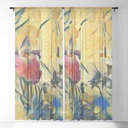 Magic Iris Sheer Curtain