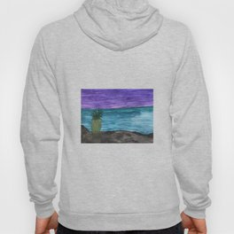 Dreaming of a Pineapple by the Sea Hoody