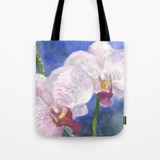 Orchid Gaze Tote Bag
