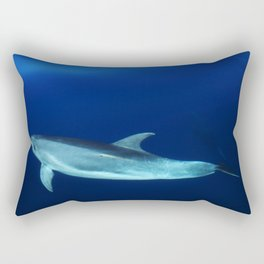 Dolphin and blues Rectangular Pillow
