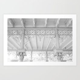 An Afternoon in Central Park Art Print